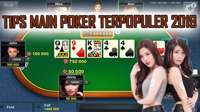 Trik Cermat Mengendalikan Judi Poker Server IDN